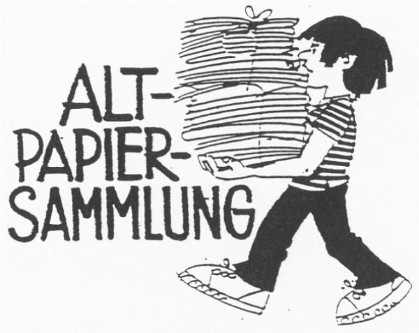 Papiersammlung Oetwil